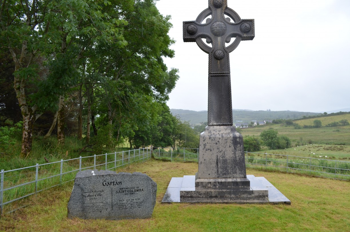 The high cross of St. Columba